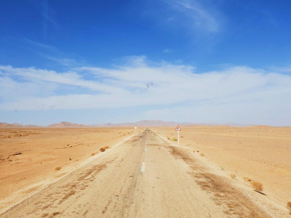 Remote Desert Location